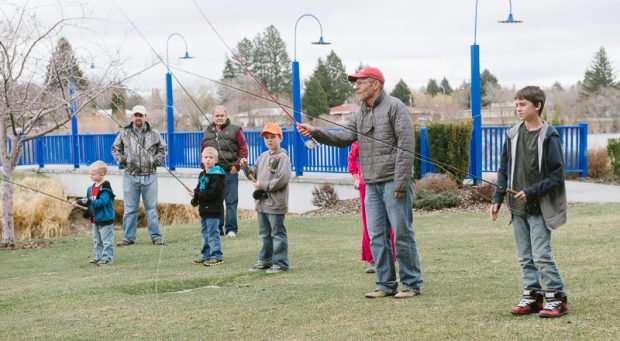 Free Fly Casting Class