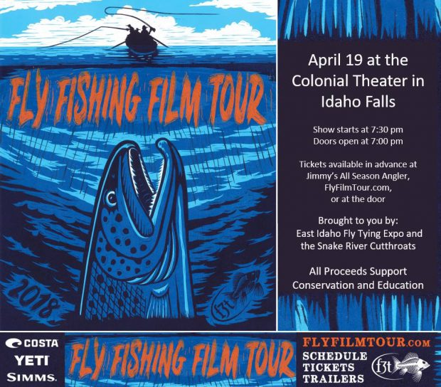 2018 Fly Fishing Film Tour, Thursday Night, April 19